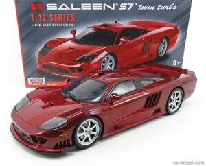 1:12 Scale SALEEN S7 twin turbo Red by MotorMax Diecast Model Car