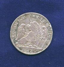 ITALY VENICE  DUKE LUDOVICO MANIN  1790  1/4 TALLERO SILVER COIN, XF