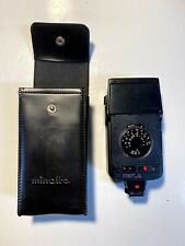 Minolta Auto 28 Flash With Soft Sided Case
