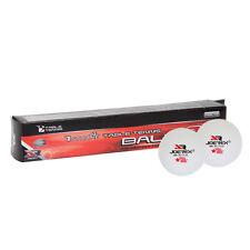 JOEREX 40mm Standard Table Tennis White Ping Pong Balls Celluloid 6pcs in 1 Box