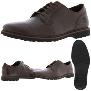 Timberland Lafayette Park Men's Leather Round Toe Lace-Up Oxfords