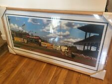 Bill Purdom Baseball Art Lithograph Duke Of Flatbush Snider Offset Fine Print
