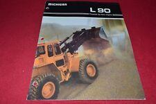 Michigan L90 Wheel Loader Dealer's Brochure YABE15