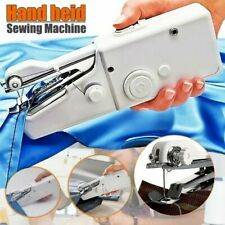 Portable Mini Handheld Sewing Machine Electric Fabric Tailor Stitch Home Travel