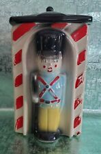 Vintage 1950's American Bisque Toy Soldier Cookie Jar - Usa 743 - Nutcracker