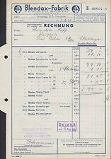 MAINZ, Rechnung 1940, Blendax-Fabrik R. Schneider & Co.