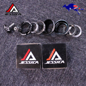 """JESSICA 34/44/44-55/44-56mm 1-1/8"""" Threadless Headset For Straight/Tapered Tube"""