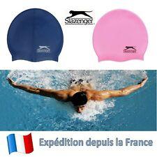 Bonnet de Bain Natation Unisex Chapeau Waterproof Sport Rose ou Bleu