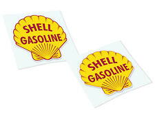 SHELL Classic Retro Car Motorcycle Decals Stickers