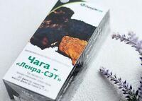 Chaga mushroom birch tea Organic Immortality Siberian supplement dietary Altai