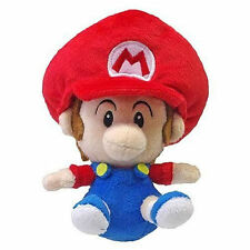 "NEW AUTHENTIC Super Mario Bros Series - 5"" Baby Mario Stuffed Plush Toy Doll"