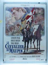 AFFICHE ORIGINALE- LE CHEVALIER DE MAUPIN - MAURO BOLOGNINI - ROBERT HOSSEIN -