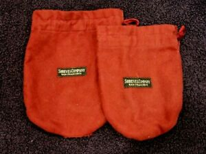 2 Vintage SHREVE & COMPANY Anti-Tarnish Bags