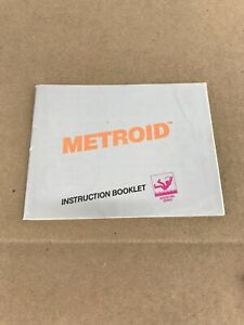 Vintage Authentic Metroid NES Nintendo Instruction Manual Only