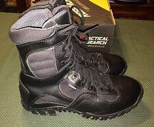 Belleville Tactical Research TR960Z WP Khyber Zipper Black Boot Sz Men 10.5 Wide