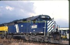 ORIGINAL SLIDE I&M RAIL LINK SD45 352 DAVENPORT IOWA 1998
