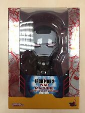 Hot Toys Cosbaby Iron Man 2 War Machine (Comic Color Version) NEW