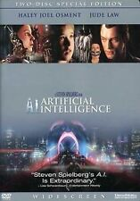 Brand New DVD A.I. Artificial Intelligence 2 Disc Set Haley Joel Osment Jude Law