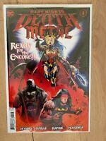 Dark Nights Death Metal #1 2nd Print Regular Cover DC Comics Batman Who Laughs
