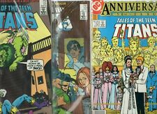 New listing Tales Of The Teen Titans 50, 51, 52 (Dc, 1985)