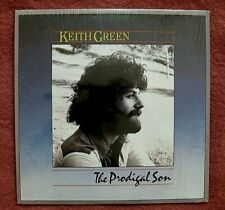 KEITH GREEN THE PRODIGAL SON 1983 LP CCM LAST DAYS MINISTRIES INSERTS