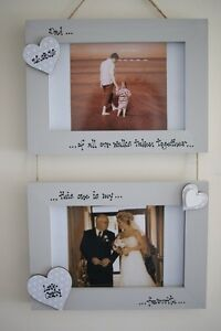 Personalised Photo Frame by Filly Folly! Father of the Bride Gift! 6x4''