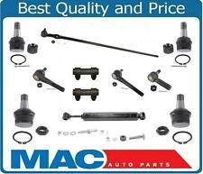 Chevy 4X4 K10 K20 V20  Drag Link Tie Rods Ball Joints Stabilizer 11Pc 81-91