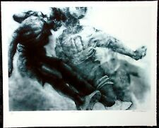 "Paul Goodnight  ""Heads Up"" Limited Edition of 175 Lithographs men's Soccer"