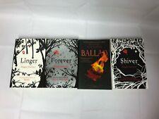4x Maggie Stiefvater Books Linger Forever Shiver Ballad (Paperbacks)