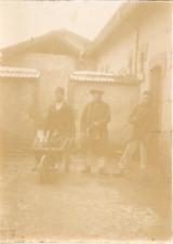 France, Militaires, Locaux disciplinaires ca.1898 vintage citrate print Vintage