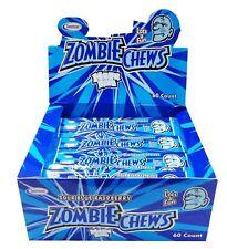 Zombie Chews Sour Blue Raspberry