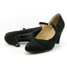 Naturalizer Layton Women US 8 W Black Mary Janes Pre Owned  1492