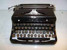 Antique 1936 Royal Model O Typewriter - Serial O-421568