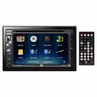 "Dual XDVD276BT - 2 DIN 6.2"" LCD Touchscreen  In-Dash DVD Player w/ Bluetooth"
