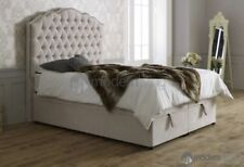 Chesterfield Fabric Modern Bed Frames & Divan Bases
