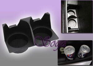 BLACK DOOR CARD CUP DRINK HOLDER FOR 1993-1998 VW MK3 GOLF JETTA CABRIO US SELL