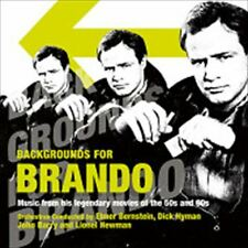 MARLON BRANDO/BACKGROUND FOR BRANDO-MUSIC FROM MOVIES OF THE 50S AND 60S...