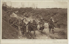 MILITARY:DAILY MAIL BATTLE PICTURES - Highlanders Pipe themselves the Trenches