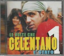 CD ADRIANO CELENTANO : LE VOLTE CHE CELENTANO E' STATO 1  NUOVO SIGILLATO