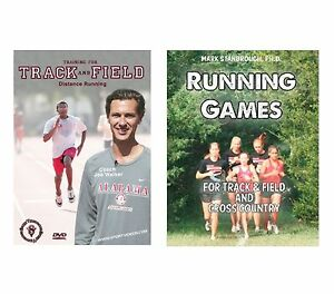 Track & Field Book and Distance Running DVD Gift Set- Free Shipping