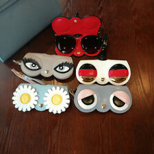 Bird Snake Eye Cat Pussy Tassel  Fox Heart Start Sunglasses Handbag Pendant Case