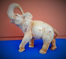 Großer Elefant Glücks Elefant Dekofigur Kunststein