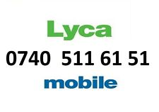 LYCA MOBILE NETWORK GOLD PHONE NUMBER VIP BUSINESS EASY DIAMOND PLATINUM SIM C