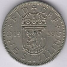 1959 S Elizabeth II One Shilling | British Coins | Pennies2Pounds