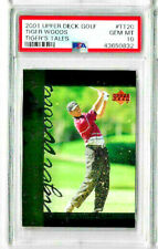 2001 Upper Deck Golf Tiger Woods #TT20 PSA 10