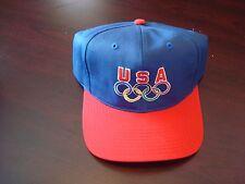 USA OLYMPICS OLYMPIC TEAM  DREAM ATLANTA SCRIPT  VINTAGE 90'S HAT CAP  SNAPBACK