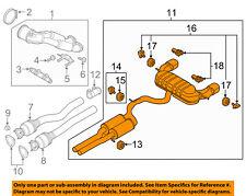 AUDI OEM 2018 TT Quattro 2.5L-L5-Exhaust Muffler-Rear 8S0253181AM