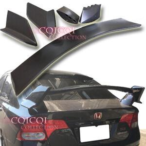 Unpainted Honda 06-10 Civic Sedan FK8 type-R style trunk spoiler Si ◎