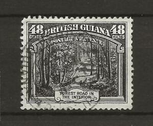 BRITISH GUIANA SG295 KGV 48c Fine Used Cat £10 UK P&P Free £1 WW