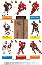 2012-13 OPC O-Pee-Chee Retro Ottawa Senators Master Team Set (17)